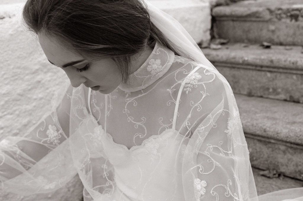 Detalle Vestido de Novia Luis Alonso