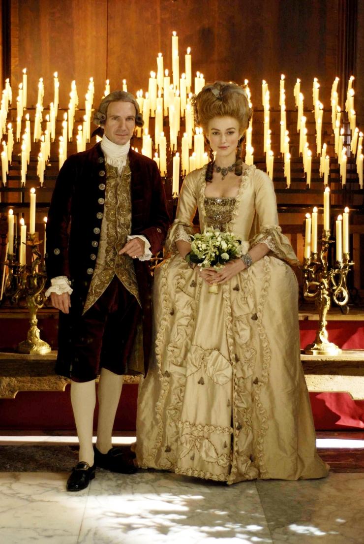 """Escena de la película """"La duquesa"""" durante la boda con el Duque de Devonshire"""