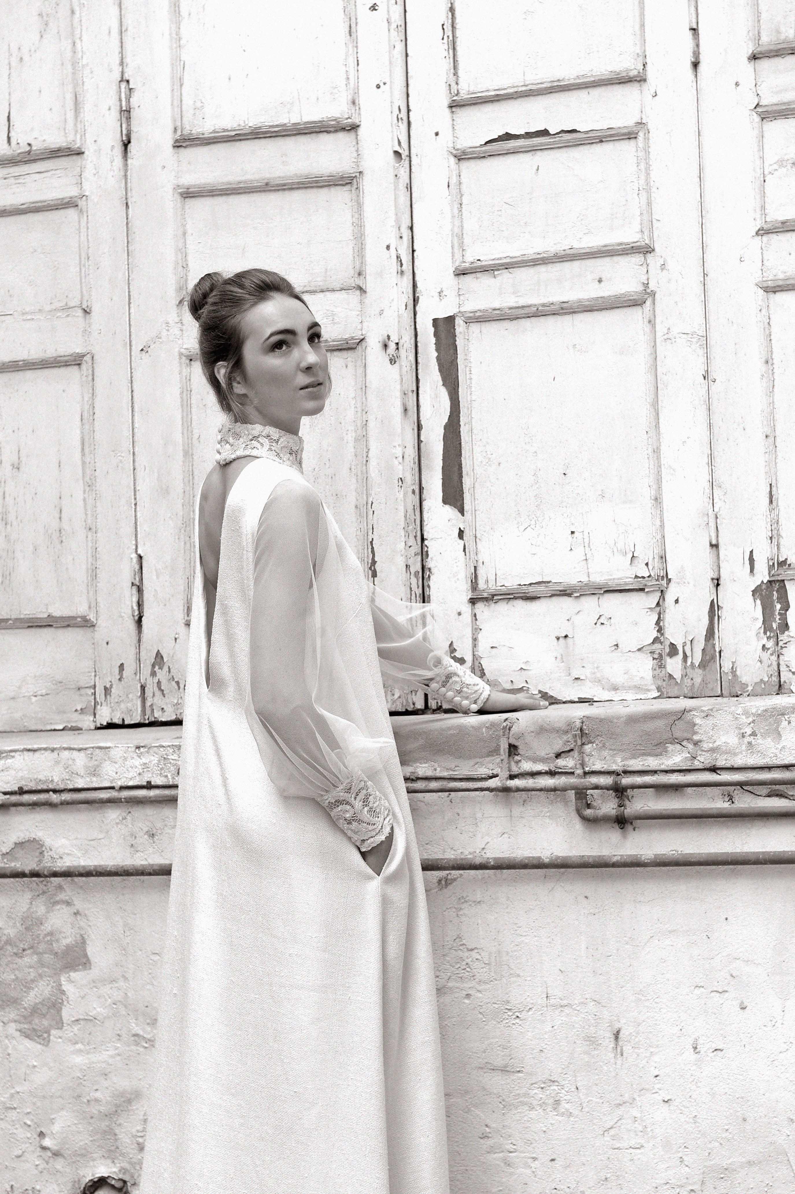 Vestido de novia Santander diseñado por luis alonso