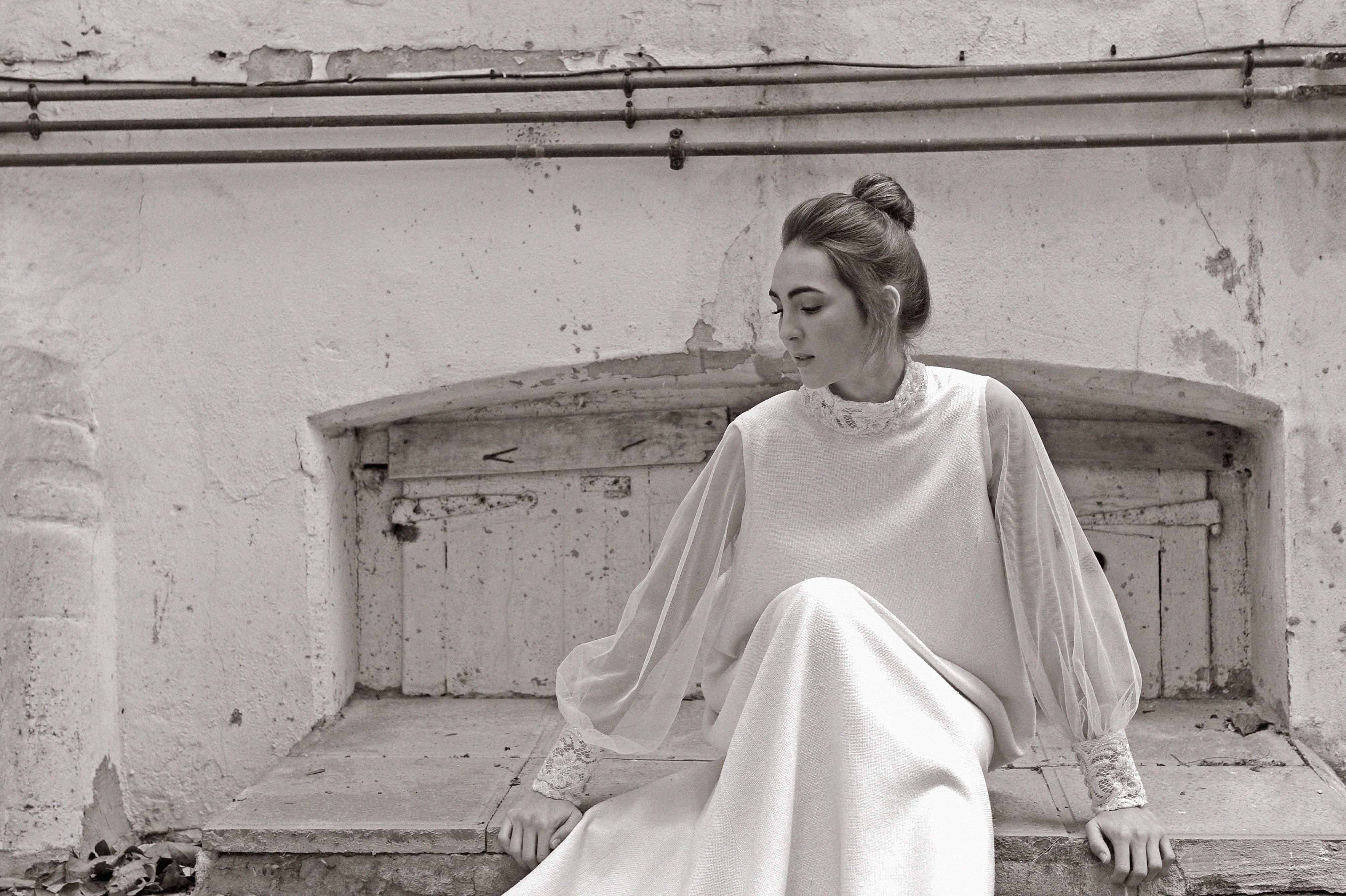 vestido de novia diseñador por Luis Alonso Cantabria