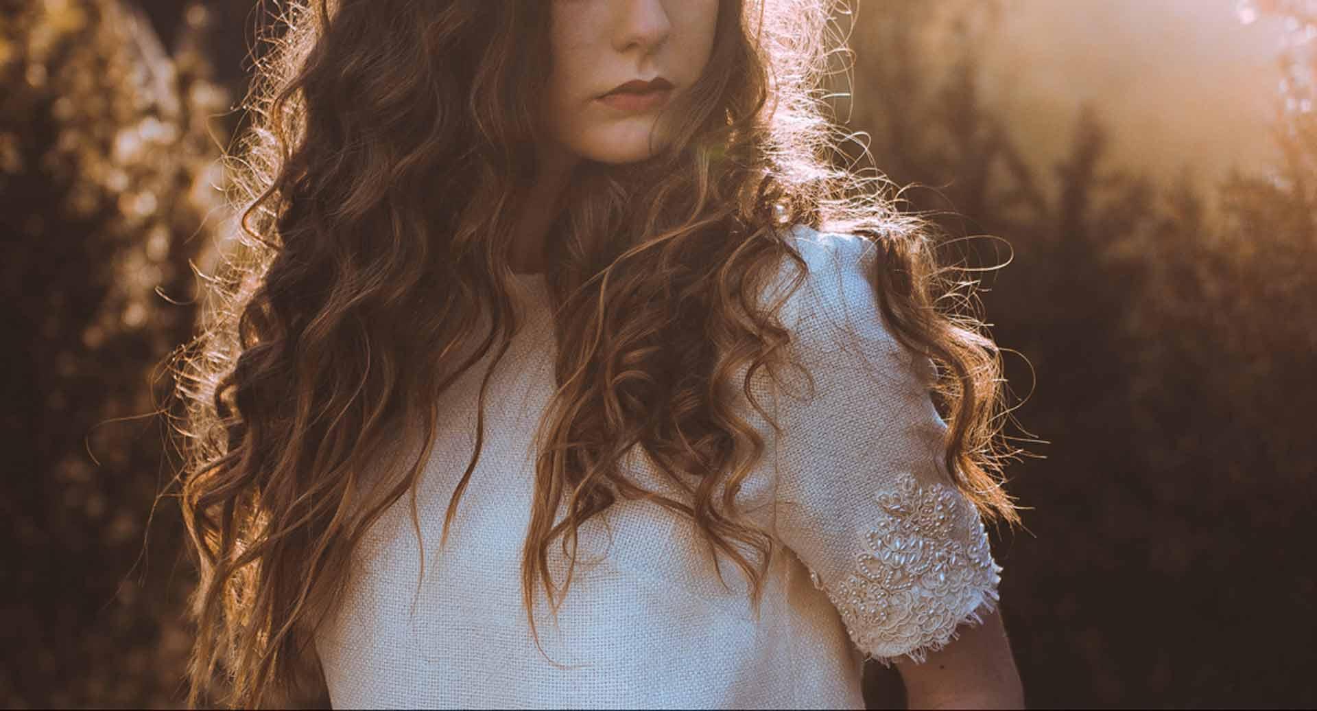 Detalle de un Traje de novia de Luis Alonso